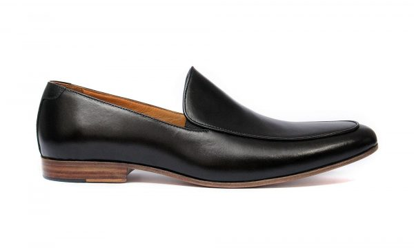 IBEX-Barbary-Handmade-HandCrafted-Men Leather Shoes-Black-Comfortable Loafers