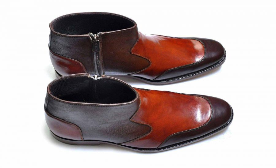 IBEX-Goral-Handcrafted-Handmade-Goodyear Welted-Zip Boots