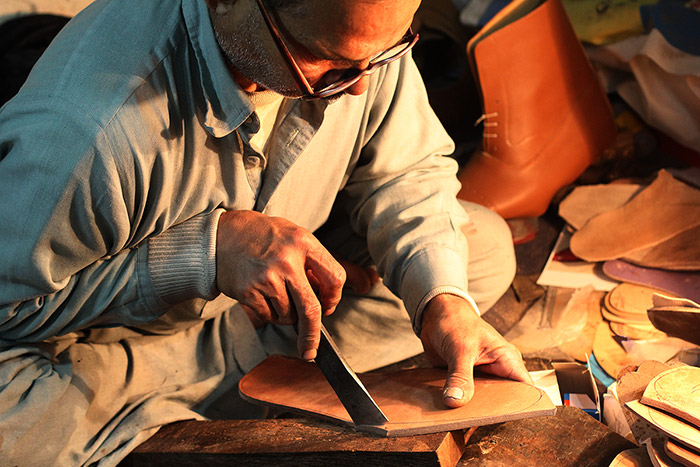 Ibex has Generations of Craftsmanship Experience in Leather Shoe Making