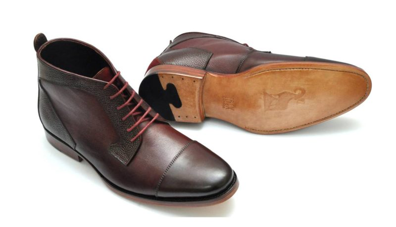 Ibex Handcrafted Cap Toe Derby Boot