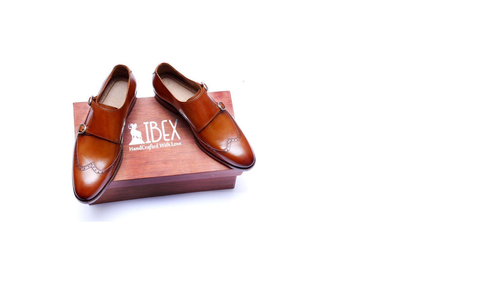 Double Monk Strap Handcrafted Shoes