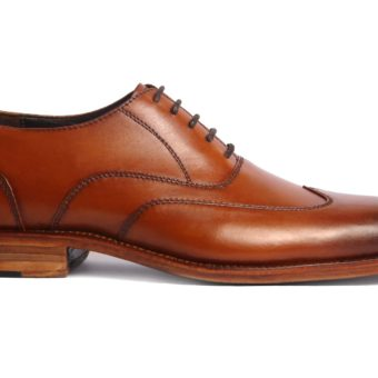 Handmade-HandCrafted-Men-Leather-GoodYear-Welted-Wingtip-Best Dress Shoes