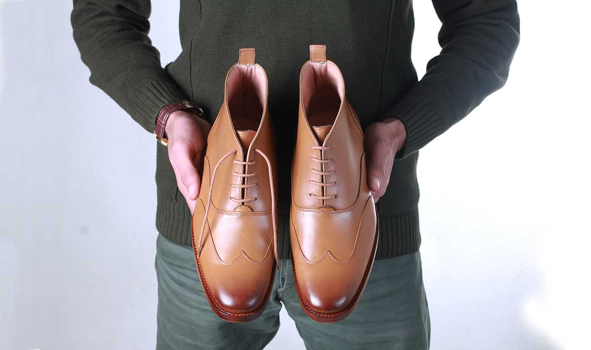 HandCrafted Men Leather GoodYear Dress Shoes